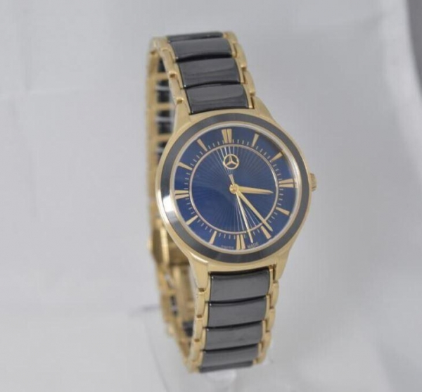 Quality Lady Stainless Steel With Ceramic Watches for sale