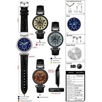 Wholesale Custom Stainless Steel Watch with Titanium Bracelet Watches Manufactures