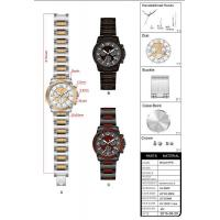 Design customization New High Quality IPS Wooden Watches Manufactures