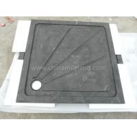 Neo Color Square Limestone Shower Tray with Water Backflow Lines Manufactures