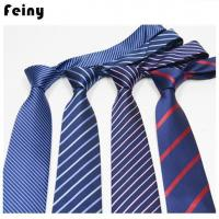 Customized Polyester Silk Neck Ties For Men Manufactures