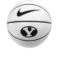 Oval Y Cougars Full Size BYU Autograph Basketball - Nike Manufactures