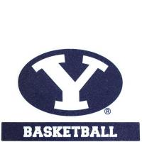 Oval Y Basketball BYU Decal Sticker Manufactures