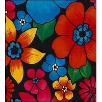 Betty's Bunch Black Oilcloth Manufactures