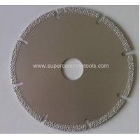 Machines 110mm Vacuum Brazed Marble Cutting Disc Manufactures