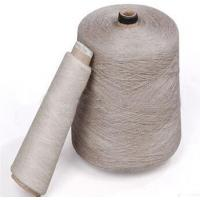 Buy cheap Spandex yarn 100% Linen yarn,color dyed yarn for weaving and sw from wholesalers