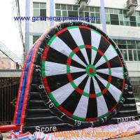 Air tight inflatable games 5m Double side Foot dart inflatable Manufactures