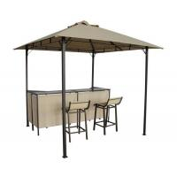 New Design BBQ Gazebo With Bar Stools And Bar Table Patio Canopy Tent Manufactures