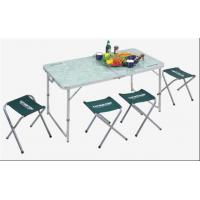5PCS Camping Folding Table Chair Set Manufactures