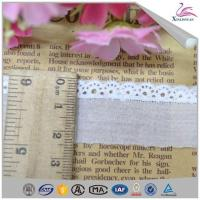Online Rose Flower Scalloped Lace Trim for Wedding Manufactures