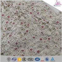 Buy cheap Newest Bead Embroidery Net Lace for Wedding Dress from wholesalers