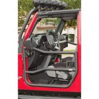 China Front Tube Doors, Textured Black; 07-16 Jeep Wrangler JK on sale