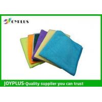 China Different Size Microfiber Cleaning Cloth Disposable Cleaning Cloths Easy Wash on sale