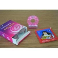 Silicone Female And Male Ring Vibrator For Delay Ejaculation / Increase Climax Manufactures
