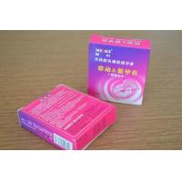 Long Time Electronic Female Vibrating Condom , Adult Love Ring Vibrator Manufactures