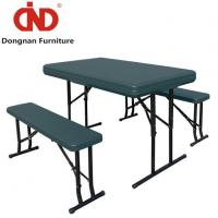 White Portable Folding Table and Bench Wholesale Lifetime Fordable Table Set Manufactures