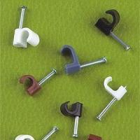 China Nail cable clips Coaxial Cable Clips on sale