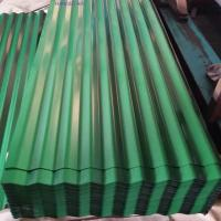 Dx51d Color Coated Galvanized Corrugated Steel Roofing Sheet (0.13--0.8mm)