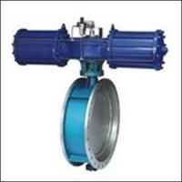 BAWWSY On-off Type Flange Triple Eccentric Pneumatic Butterfly Valve Manufactures