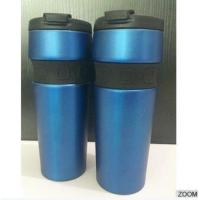 Buy cheap Coffee Mug Double-deck Stainless Steel, Vacuum Insulated Cup 16OZ ,Travel Tumbler Blue , from wholesalers