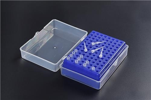 Quality Plastic Pipette Tip Box 96wells for 10ul 200ul Tips for sale