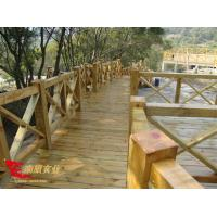 Anti-corrosion wood plank professional installation of outdoor anti-corrosion wood floor platform