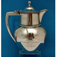 Buy cheap Art Glass N.Y.Y.C. trophy for 1933 Vice Commodore's Cup, from wholesalers