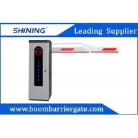 3S Lifting Time Intelligent Car Parking Lot Barrier Gate With Folding Arm