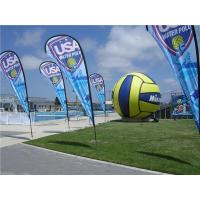 Beautiful and High Quality Beach Flag Printing Outdoor Advertising Signs Flag Manufactures