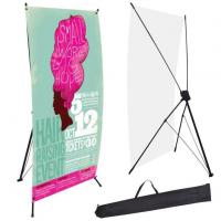 Custom high quality outdoor or indoor Xbanner stand for display manufactures and suppliers China Manufactures