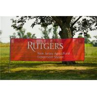 High Quality and High Resolution Large Format Advertising Promotional Mesh Banner Printing Manufactures