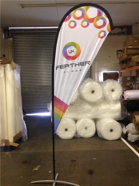Quality Outdoor Advertising Teardrop Flag Banner Signs Stand for Exhibition for sale