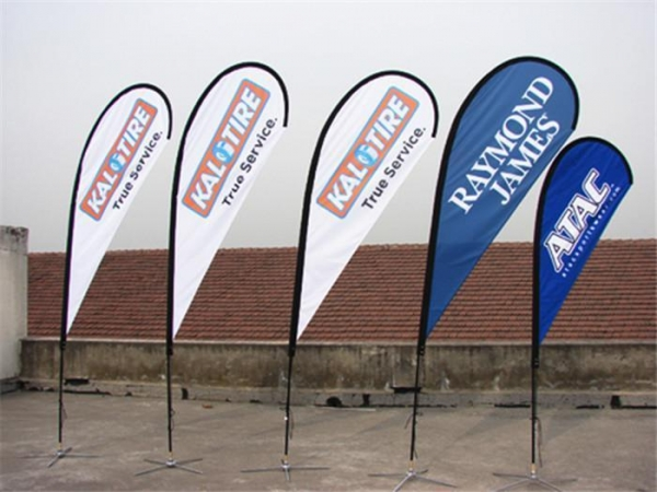 Quality Design Your Own Cheap and Beautiful Double Sided Teardrop Banner Flags for Sale for sale