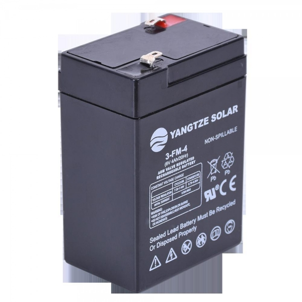 Quality Lead Acid Battery 6V 4Ah Rechargeable Lead Acid Battery for sale