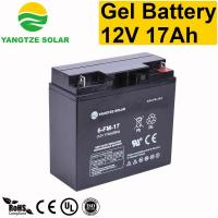 Buy cheap Gel Battery 12v 17ah from wholesalers