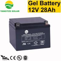 Buy cheap Gel Battery 12v 28ah from wholesalers