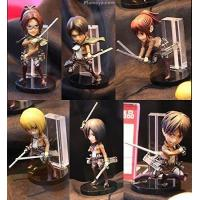 Attack on Titan - World Collectable Figure Vol.1 (6pcs) Manufactures