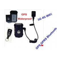Hands Free Police Body Worn Security Cameras With High Strength Engineering Plastics