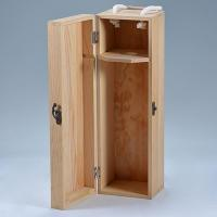 Personalised Bottle Wooden Wine Box Wholesale Crate Case With Sliding Lid & Rope Handle Manufactures