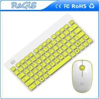 2.4G Thin Mini Wireless Logitech Keyboard And Mouse For Notbook And Pc Manufactures