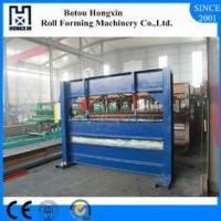 Buy cheap Colored Steel Roll Bending Machine For Roof 0.3 - 0.8mm Plate Thickness from wholesalers