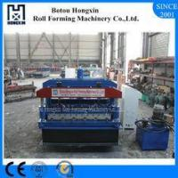 Buy cheap Glazed Step Tile Roll Forming Machine, 1000mm Cover Width Roll Forming Machines from wholesalers