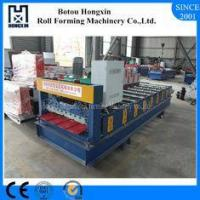 Buy cheap Building Sheet Roll Forming Machine, Trapezoidal Sheet Metal Roll Forming Machines from wholesalers