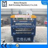 Buy cheap Reliable Corrugated Sheet Roll Forming Machine, CE Sheet Metal Forming Machine from wholesalers