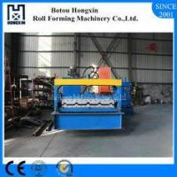 Buy cheap Reliable Colored Roof Roll Forming Machine With Zinc Plate Steel Profile from wholesalers