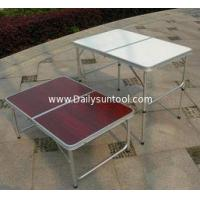 3FT Folding Tabel and Chairs picnic camping table, garden banquet MDF folding long table Manufactures