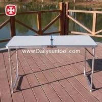 4FT Folding Tabel and Chairs picnic camping table, garden banquet MDF folding long table Manufactures