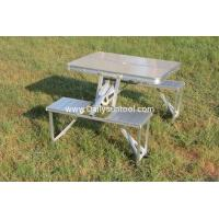 Aluminium Folding Portable Picnic Outdoor Camping Set Table & 4 Chairs BBQ Party Manufactures