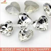 Buy cheap Wholesale Heart Shape Pointback Rhinestone from wholesalers