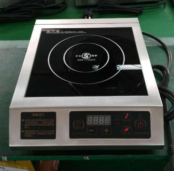 China Ultra Thin Single Induction Cooktop , Portable Induction Hob Easy Installation